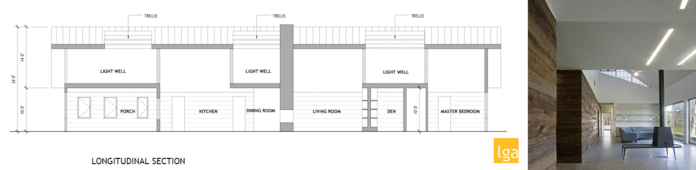 BK House 7 - LONG SECTION