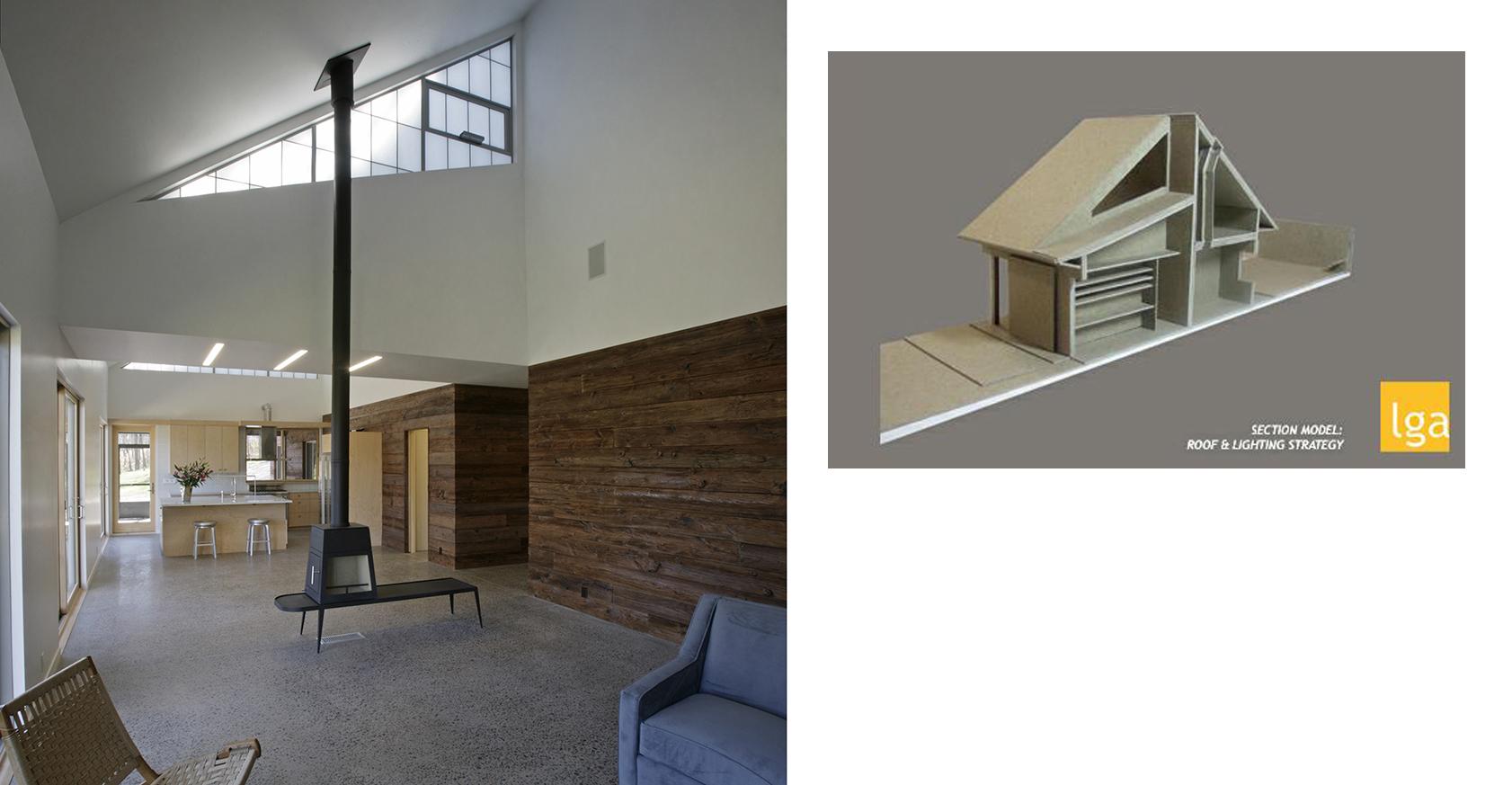 BK House 5 - SECTION MODEL