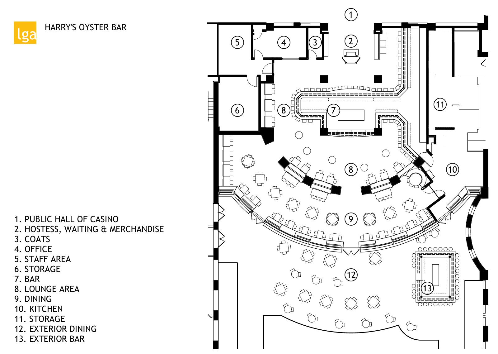AC - 10 harrys - furniture plan